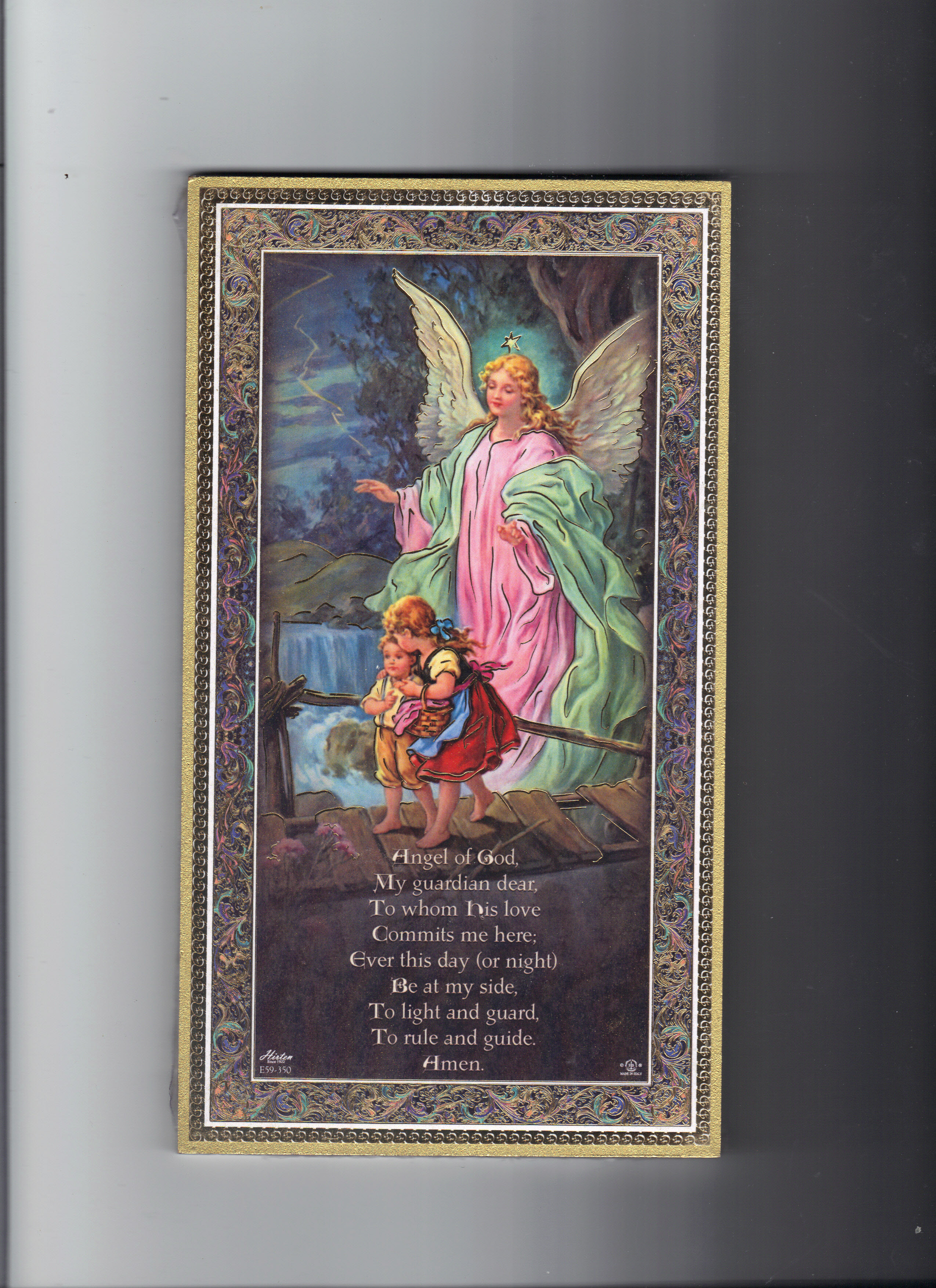 Image for GUARDIAN ANGEL PLAQUE