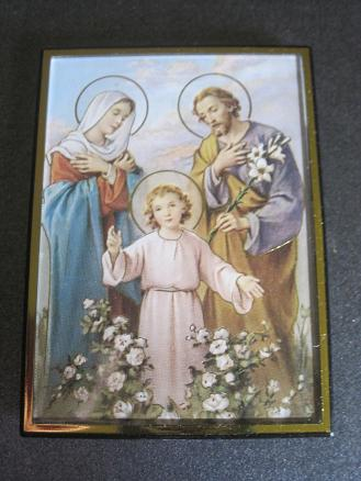 Image for Holy Family Magnetic Frame/Easel