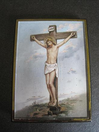 Image for Crucifixtion Magnetic Frame/Easel