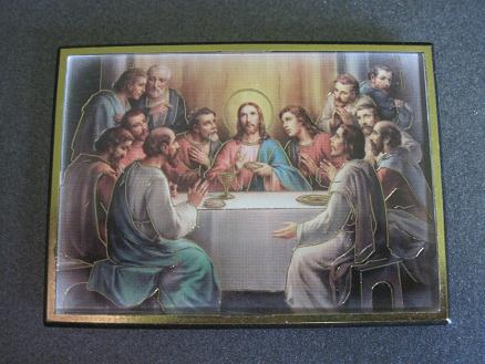 Image for The Last Supper Magnetic Frame/Easel