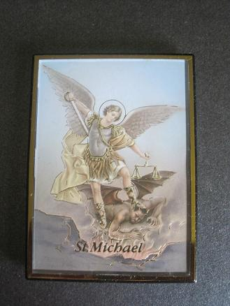 Image for St. Michael Magnetic Frame/Easel