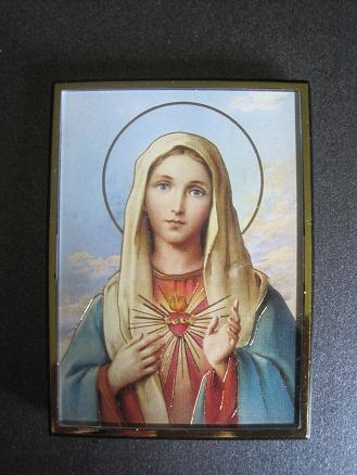 Image for Immaculate Heart of Mary Magnetic Frame/Easel