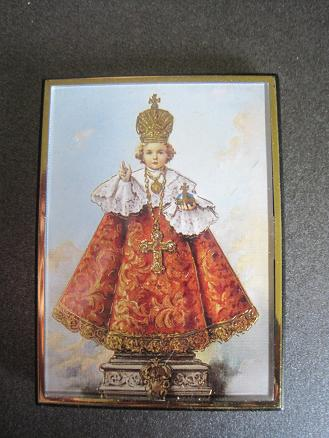 Image for Infant of Prague Magnetic Frame/Easel