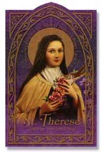 Image for St. Therese Holy Card