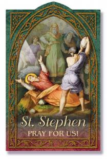 Image for St. Stephen Holy Card