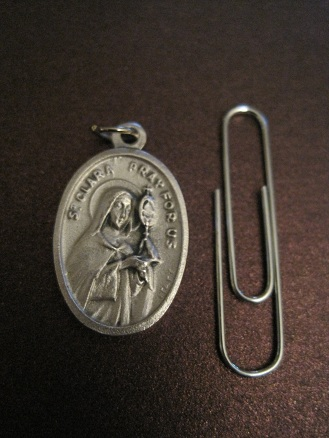 Image for St. Clara Medal