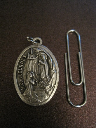 Image for Our Lady of Lourdes Medal