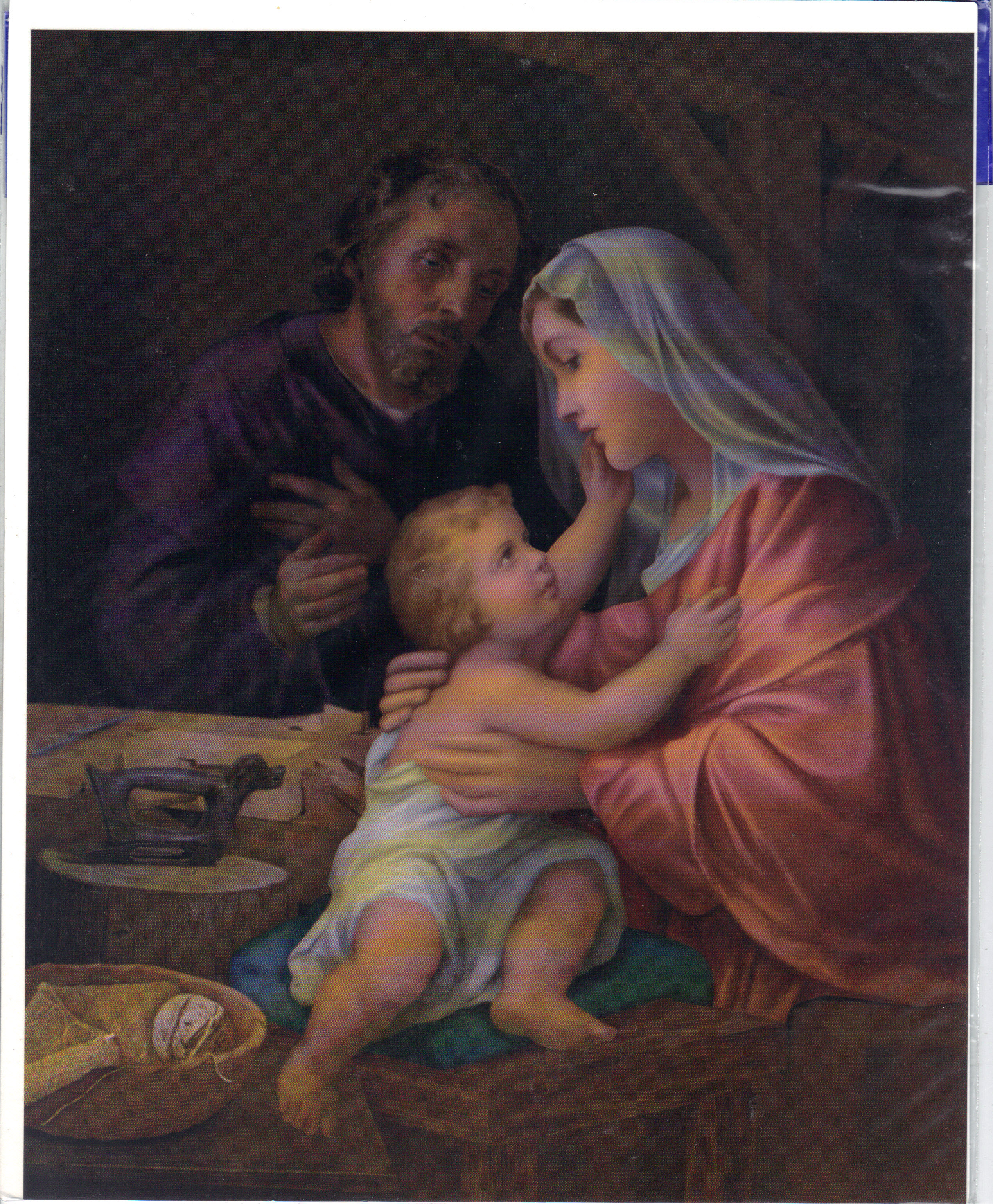 "Image for HOLY FAMILY 8"" X 10"" PRINT"
