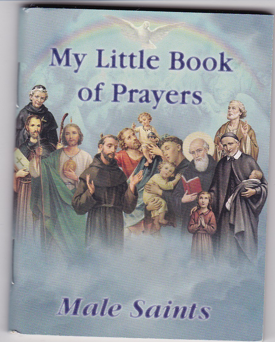 Image for My little Book of Prayers-Male Saints