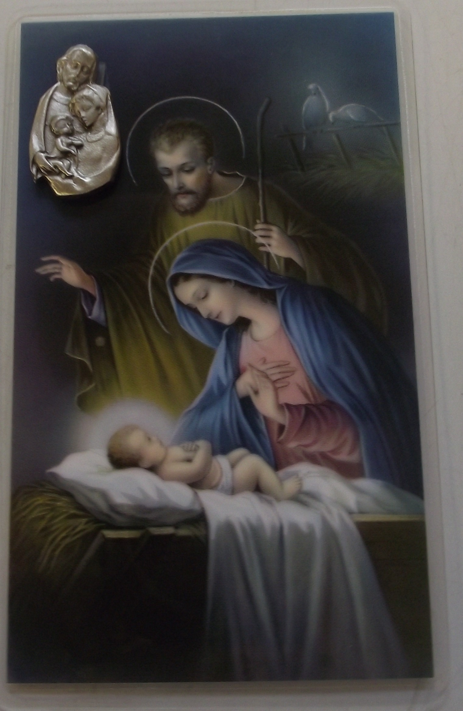 Image for Christmas Prayer Card