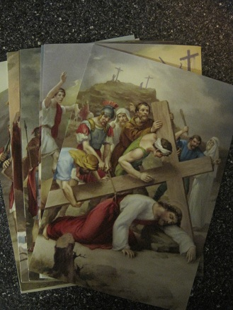 Image for The 14 Stations of the Cross Poster Prints