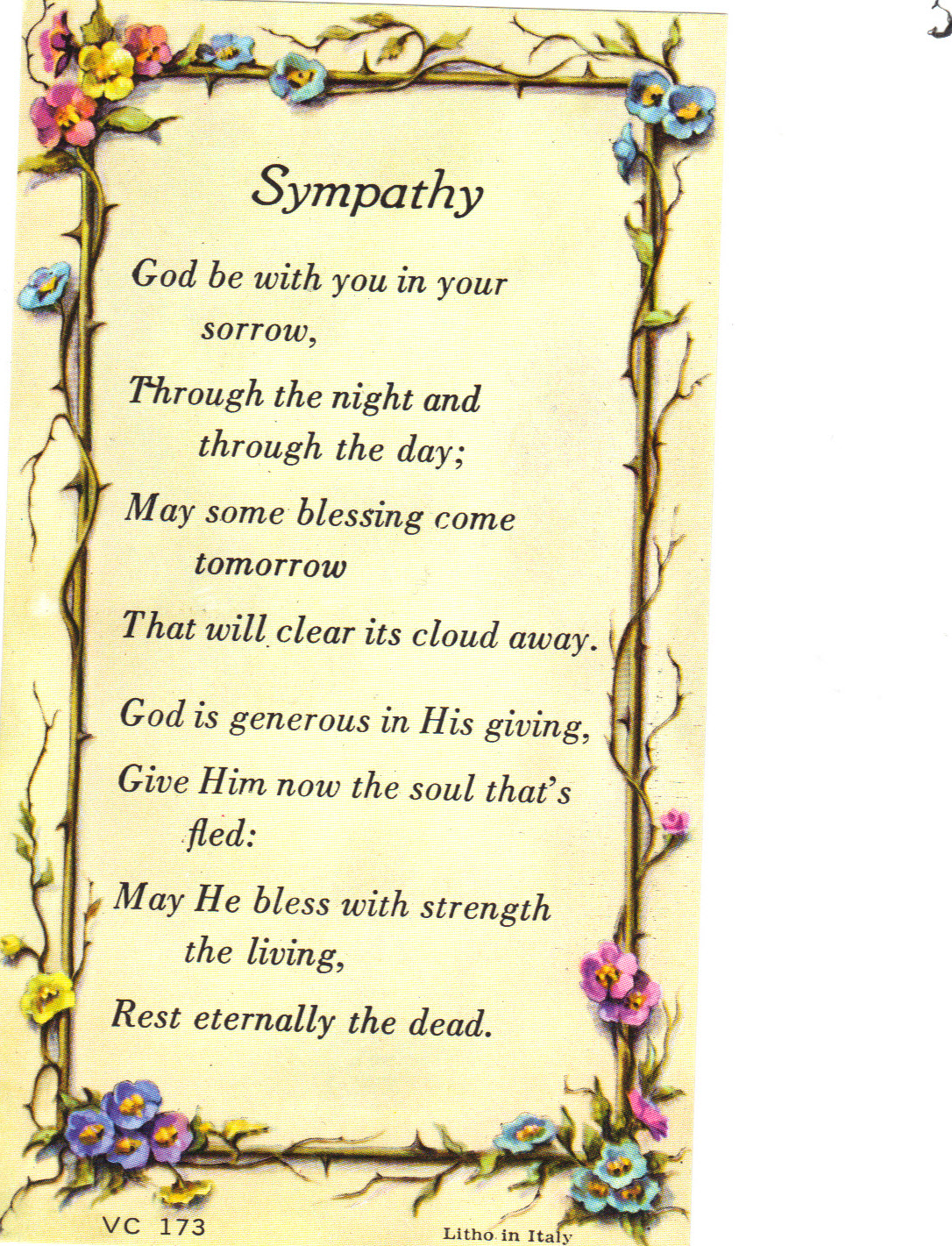 Image for Sympathy