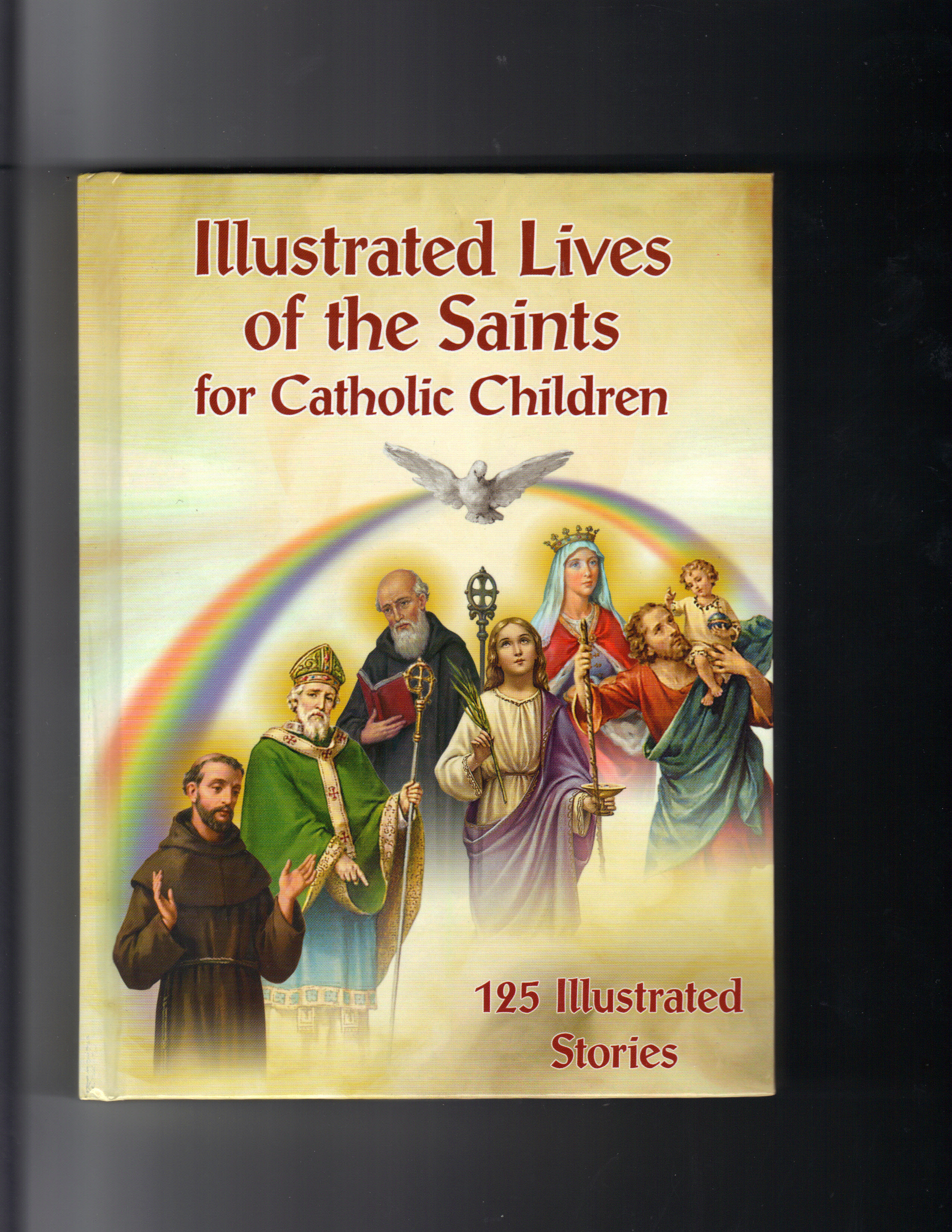 Image for Illustrated lives of the Saints for catholic Children