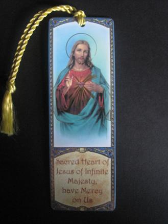 Image for Sacred Heart of Jesus Bookmark