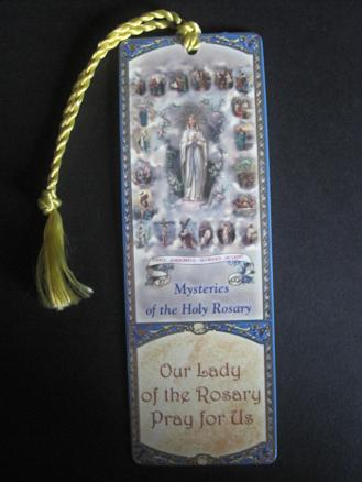 Image for Mysteries of the Holy Rosary Bookmark