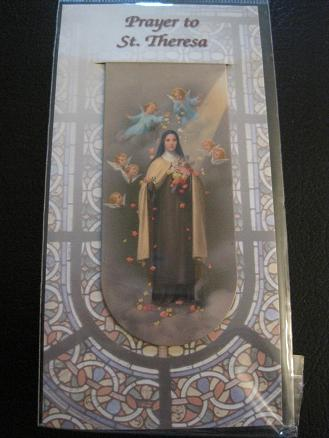 Image for Prayer to St. Theresa Magnetic Bookmark