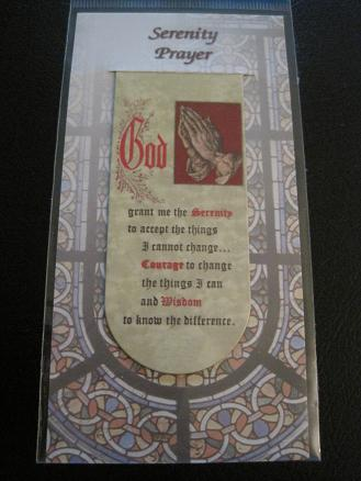 Image for Serenity Prayer Magnetic Bookmark