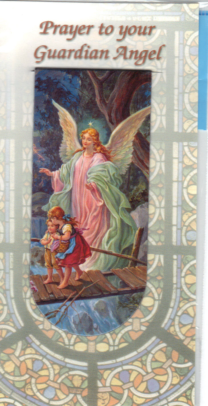 Image for Prayer to your Guardian Angel- Magnetic Bookmark