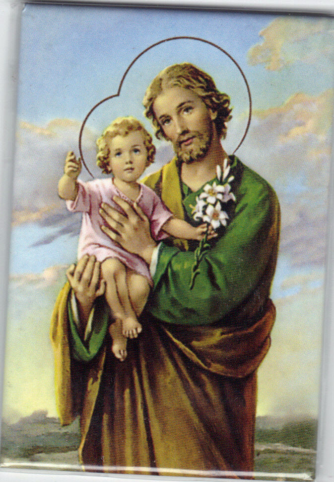 Image for St Joseph - Magnetic