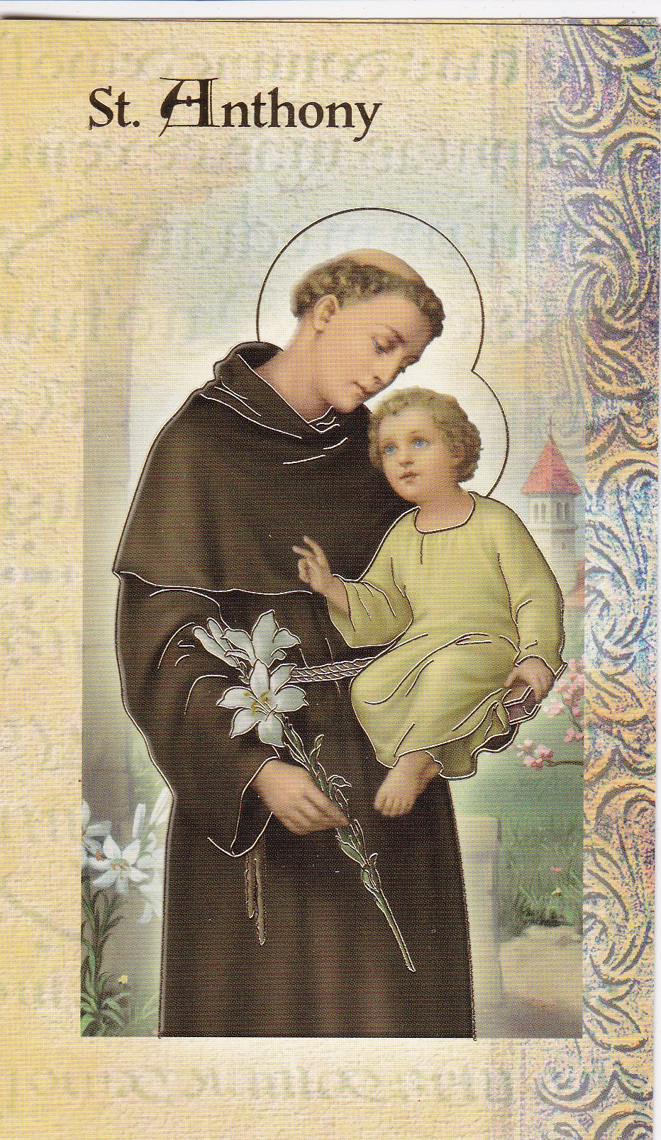 Image for St Anthony