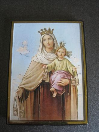 Image for Our Lady of Mt. Carmel Magnetic Frame/Easel