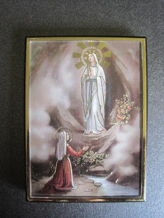 Image for Our Lady of Lourdes Magnetic Frame/Easel