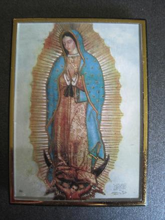Our Lady Of Guadalupe Magnetic Frameeasel