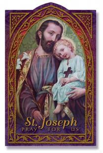 Image for St. Joseph Holy Card