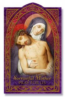 Image for Sorrowful Mother Holy Card
