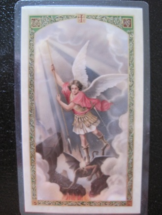 Image for Policeman's Prayer to Saint Michael Prayer Card