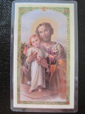 Image for Prayer to St.Joseph For Employment Prayer Card