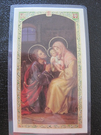 Image for Parents Prayer Prayer Card