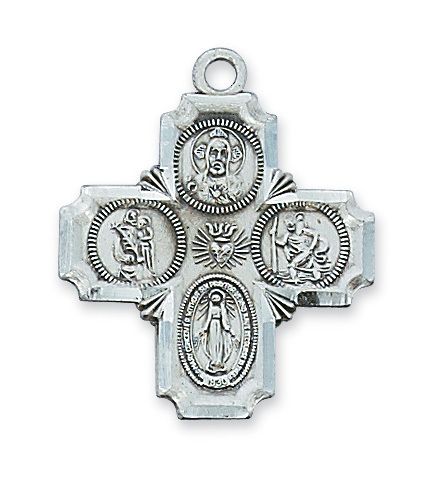 Image for STERLING SILVER 4-WAY 20 CH&BX""