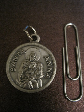 Image for Saint Anne Relic Medal