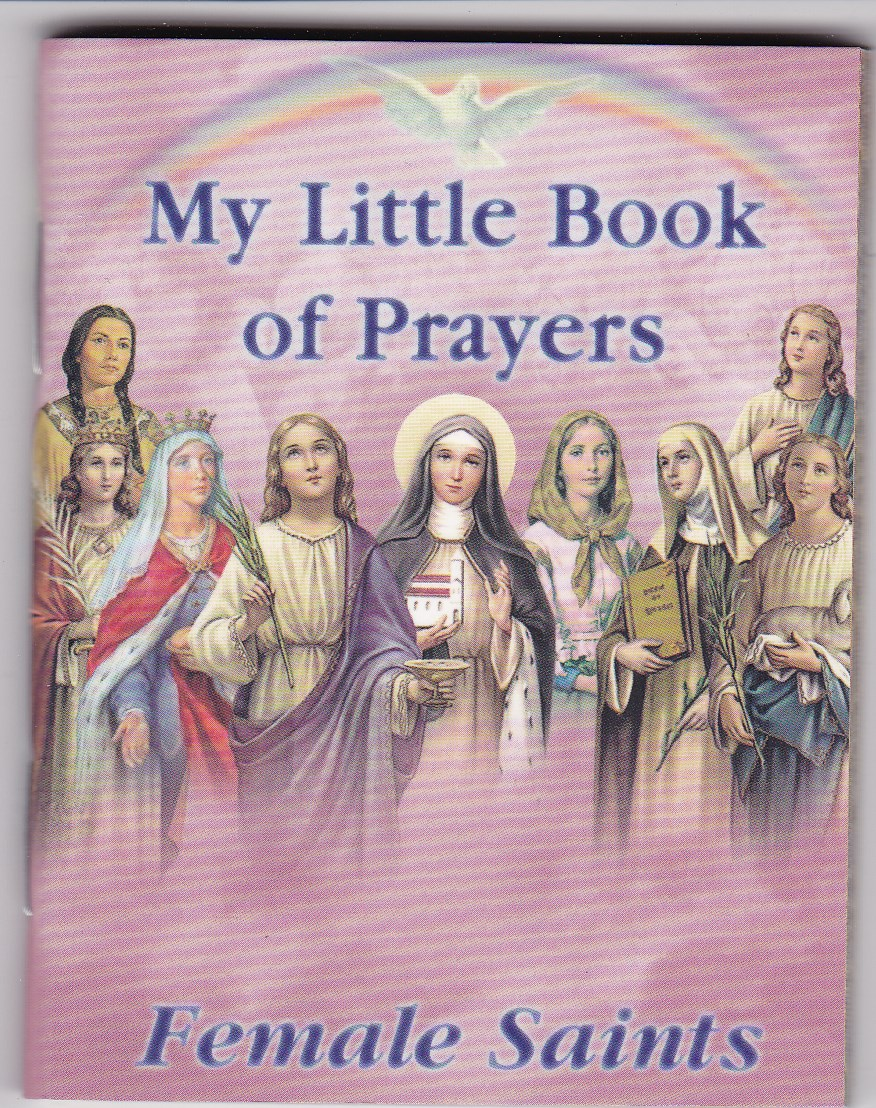 Image for My Little  Book of Prayers-female Saints