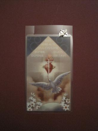 Image for Prayer to the Holy Spirit Prayer Card w/ Pin