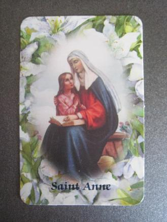 Image for St. Anne Relic Card