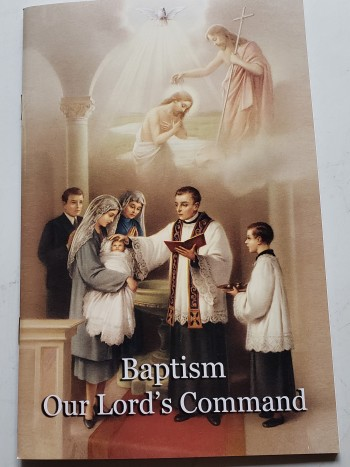 Image for Baptism Our Lords Command