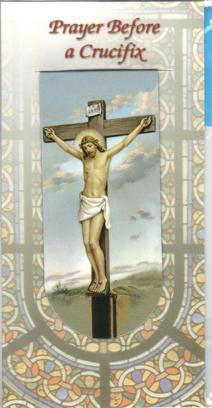 Image for Prayer Before A Crucifix- Magnetic Bookmark